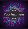 modern digital template color equalizer vector image vector image