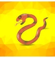 Red Snake vector image