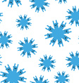 Snowflakes rock hand sign seamless patetrn Rock vector image