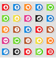 Tabs with Icons vector image