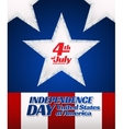 independence day card vector image