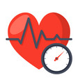 blood pressure concept vector image vector image