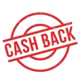 Cash Back rubber stamp vector image vector image