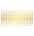 fire flame gold halftone matrix vector image
