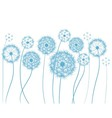 flower dandelion sketch vector image vector image