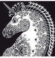 horse999 vector image vector image