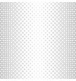 monochrome circle pattern - geometric abstract vector image vector image