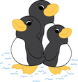 Penguin Friends vector image vector image