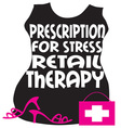 Retail Therapy vector image vector image