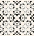 seamless pattern floral geometric ornament vector image vector image