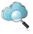 Search in cloud computing concept vector | Price: 1 Credit (USD $1)