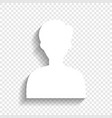 user avatar anonymous sign vector image vector image
