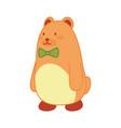children toy cute bear kid development vector image