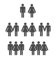 Gender symbol 2 vector image