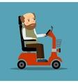 Man in Wheelchair vector image