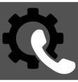 Phone Configuration Icon vector image
