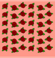 roses wallpaper on white background vector image vector image