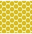 Seamless doodle lemon pattern vector image