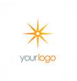 star compass logo vector image vector image
