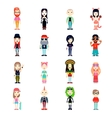 Subcultures Icons Set vector image vector image