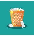 Trash Recycle Bin Garbage vector image vector image