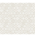 Wallpaper with stylized snowflakes vector image vector image