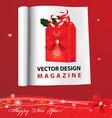 Christmas Catalogue vector image vector image