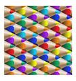 color pencil pattern vector image