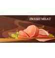 Fresh Meat Cartoon vector image vector image
