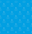 holiday cake pattern seamless blue vector image vector image