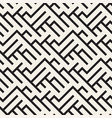 irregular maze shapes tiling contemporary graphic vector image vector image