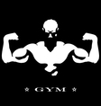 Man with muscles vector image vector image