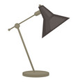 office lamp isolated object light and house vector image