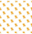 percentage from honey pattern vector image vector image