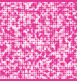 seamless pink background with polka dots vector image