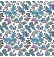 Beautiful background seamless pattern with flying vector image