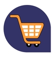 Cart or shopping icon of set tricolor vector image vector image