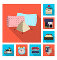 design of dreams and night sign set of vector image