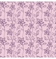 Flower lacy seamless background