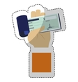 mobile payments design vector image