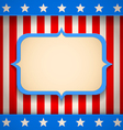 USA banner vector image vector image