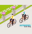 active senior people background vector image vector image