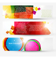Banner Set for Businesses vector image