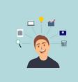 business concept idea vector image
