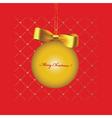 Christmas print vector image vector image