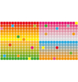 Color squares background vector image vector image