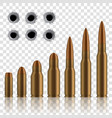 creative of realistic shot gun vector image vector image