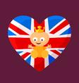 English Royal Baby vector image