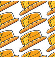 french cheese and baguette seamless pattern france vector image vector image