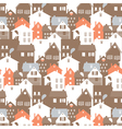 megalopolis seamless pattern vector image
